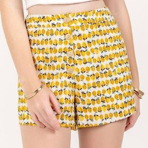 🆕 Francesca's Lemon sprint Shorts